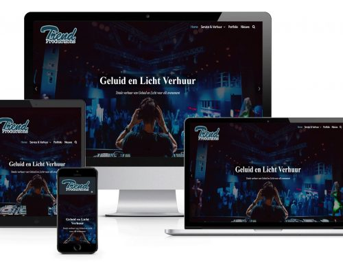 Nieuwe website Trend Productions